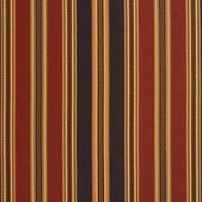 Upholstery Fabric Striped Black Green Burgundy Striped Faux Silk Upholstery Fabric By The