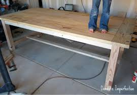 attractive homemade kitchen tables and how to build a dining room