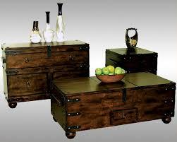 trunk coffee table set sunny designs trunk coffee table set santa fe su 3166dc