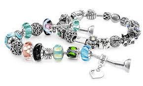 custom charm groupon custom charm bracelet or necklace from iris charms