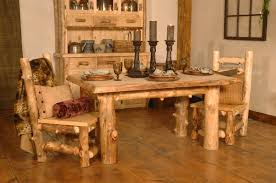 Log Dining Room Table Log Dining Room Dining Room Hickory Furniture Cabin Rustics On Sich