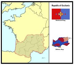 Vichy France Flag Republic Of Occitania Alternate History By Kaplanhorus On Deviantart
