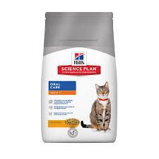 hill u0027s science plan oral care cat food with chicken pets