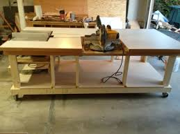 workbench plans for miter saw bench decoration