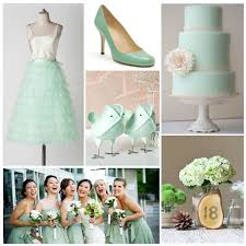 mint green wedding summer wedding colour palettes summer wedding colors summer