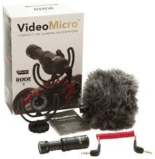 microphone black friday rode videomicro on camera cardioid condenser microphone black rod