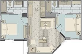Disneyland Hotel 1 Bedroom Suite Floor Plan by 2 Bedroom Suites In Los Angeles Mattress