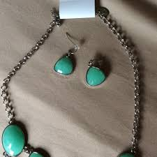 charming charlies earrings 56 charming jewelry mint green necklace and