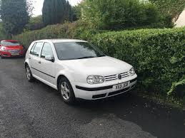 white volkswagen golf volkswagen golf 2000 white 300 ono in port glasgow