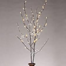 pre lit branches branch lights west elm