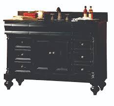 Black Bathroom Vanities With Tops Wonderful 48 Inch Bathroom Vanity With Granite Top 48 Inch Vanity