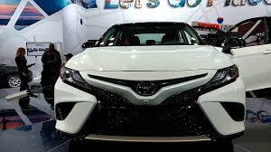 toyota international 2018 toyota camry xse new york international auto show youtube