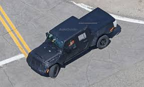 jeep wrangler pickup jeep wrangler pickup spied looking production ready autoguide