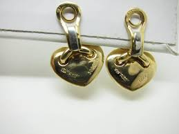 chaumet earrings chaumet gold link hearts earrings for sale at 1stdibs