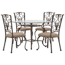 8 Seater Round Glass Dining Table Round Glass Table U0026 4 Chairs