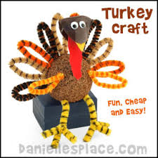 foam turkey craft thanksgiving crafts kids can make