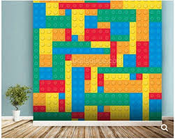 sofa kinderzimmer kundenspezifische kinder tapete lego blöcke wirkung fresken für