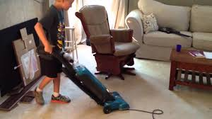 to vacuum how to get your kids to vacuum a room youtube