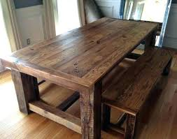 Hairpin Leg Dining Table Dining Table 2x4 Dining Table Plans Bench Top Hairpin Legs 2x4