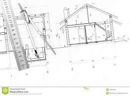 blueprints for new homes architecture blueprint and tools stock photo image of dimensions