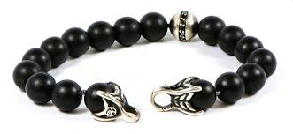 onyx bracelet with diamonds images David yurman spiritual beads diamond bracelet tns diamonds jpg
