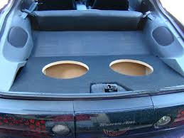 camaro speaker box custom fitting car and truck subwoofer boxes