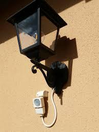 add motion sensor to existing porch light
