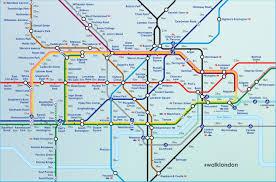 Underground Map Walklondon Aryjoe Creatives
