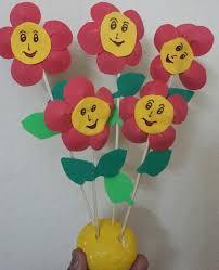 foam flowers for kids ssartscrafts