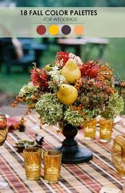 fall wedding color palette 18 fall wedding color palettes the ultimate guide the