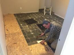 amazing of basement flooring tiles with a built in vapor barrier