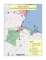 Lake Erie Map Priority Areas Healing Our Waters Coalition