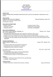 crafty design internship resume sample 1 for internship 998