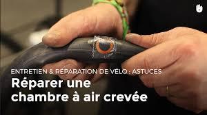réparer une chambre à air de vélo réparer un pneu avec un kit de réparation pour crevaison comment