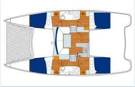 Catamaran Floor Plans Charter Snow Leopard