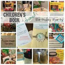 children u0027s book themed birthday party refresh living