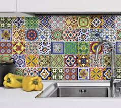 tile decals for kitchen backsplash kitchen backsplash tiles talavera kitchen splashback tile