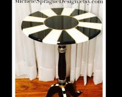 Painted Accent Table Painted Table Etsy
