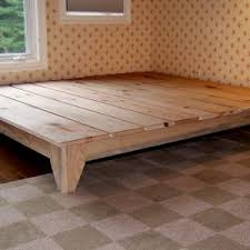 Platform Bed Ideas Bedroom Oak Platform Bed For Bedroom Design Idea