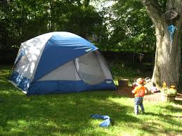 Tent Backyard 40 Kid U0027s Summer Activities That Don U0027t Involve A Screen Or A