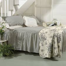 Country Quilts And Bedspreads Asher Ticking Bedding Collection For Country Beds Sturbridge