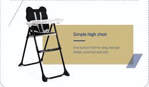 Simple High Chair Taizhou Fenglilai Plastic Co Ltd Baby Feeding Chair