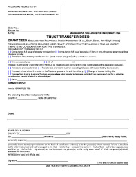 awesome sample deed of trust form gallery resume samples
