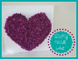 Decorate Room With Paper Diy Room Decor Tissue Paper Heart Wall Art Youtube
