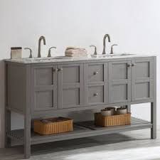 Abbey 60 Inch Vanity Bathroom Corner Double Vanity Wayfair