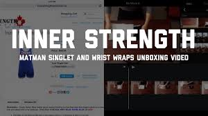 Inzer Bench Shirt Sizing Chart Unboxing Inner Strength Inzer Matman Singlet Inzer Iron Z