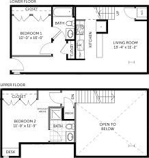 Steel Building Floor Plans by Metal Building 2 Bedroom Miller Lofts At Plant Zero