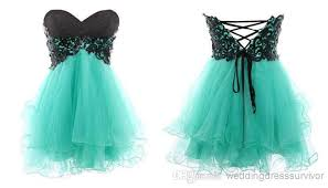 neckline lace up back butterfly corset formal
