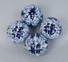 Chinese Home Decor Store Chinese Character Porcelain Balls Home Décor Table Decor