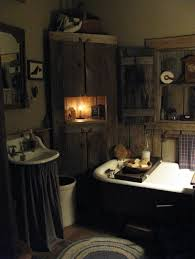 bathroom inspiring primitive country bathroom decor ideas the